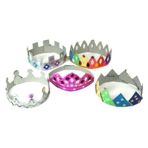 make-your-own-crowns-tiaras-art-and-craft-activity-pack-pack-of-12
