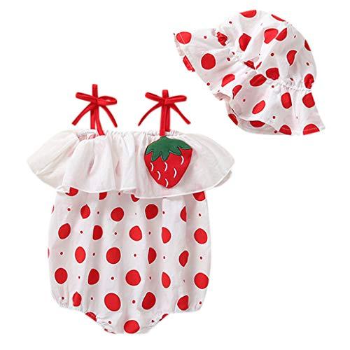 Cuteelf Baby Mädchen Kleid Prinzessin Hochzeits Taufkleid Blumenmädchen Kleider Party Festlich Kleid Festzug Kleidung Kleinkind (Hochzeit Billig Zeug)