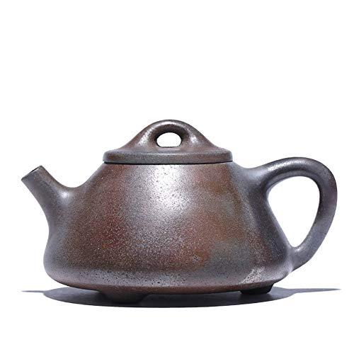 GuoQiang Zhou Sección de Olla Zisha, Horno de leña de Barro, Juego de té, Tetera de Piedra de fundición...