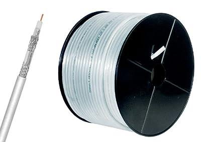 120dB Koaxial Antennen Kabel (CU) 4fach geschirmt 25m von MANAX bei Lampenhans.de