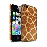 eSwish Clipser Brillant Coque de Coque pour Apple iPhone 4/4S / Modèle Fourrure Girafe Design/Motif Imprimé Animal Mode Collection