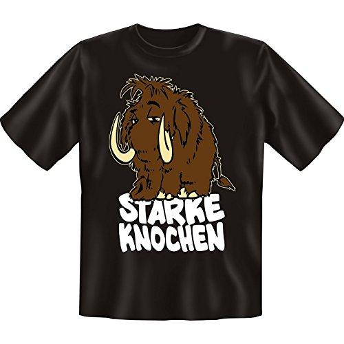 super Auftritt mit collem T-shirt-Set: Farbe: schwarz + STARKE KNOCHEN + Schwarz