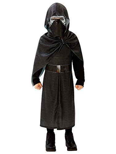 Kylo Ren Star Wars Deluxe Kinderkostüm Lizenzware schwarz silber 146