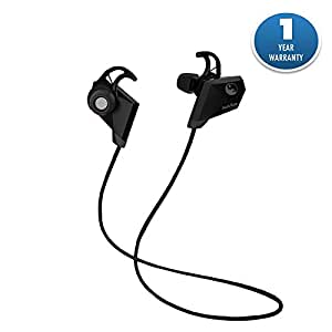 Acid Eye Bluetooth Headphones In Ear Wireless Earbuds (Black)