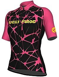 BurningBikewear Uglyfrog Manga Corta Maillot Ciclismo De Mujer Verano Ropa  De Triatlon Transpirables DXWZ05F 2fc486f2e13d