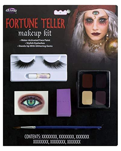 rin Make-up Set für Fasching, Halloween & Motto Party ()