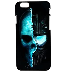 MANNMOHH HARD BACK COVER FOR APPLE IPHONE 6S PLUS