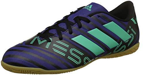 adidas Nemeziz Messi Tango 17.4 in, Scarpe da Calcetto Indoor Uomo, Multicolore (Tinuni/Vealre/Negbas 000), 43 1/3 EU