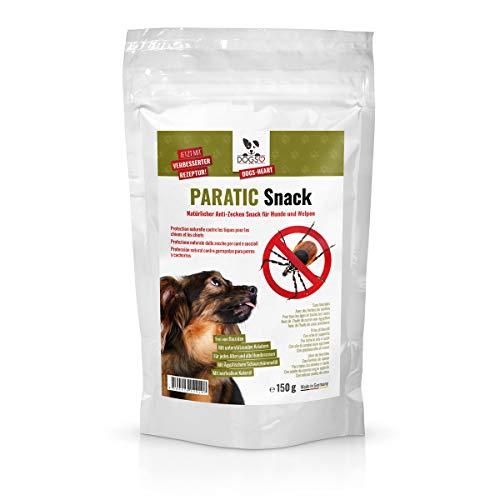 DOGS-HEART Anti-Zecken Snack (150g) für Hunde - Natürliche Abwehr gegen Zecken, Flöhe und Milben - Auch für Welpen geeignet