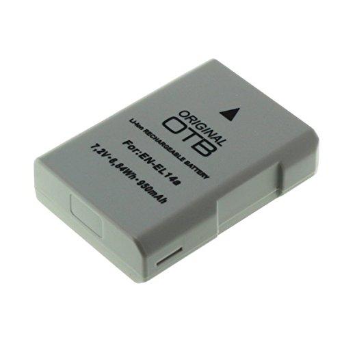 Ersatzakku für Nikon EN-EL14a / D3300, D5300, Df (950mAh/6,84Wh)