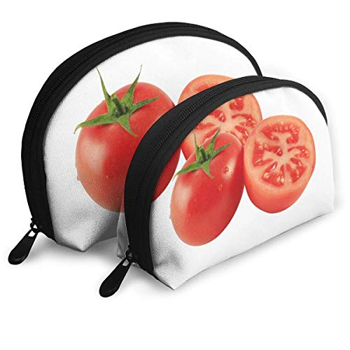 Portable Shell Makeup Storage Bags Tomato Fresh Funny Logo Travel Waterproof Toiletry Organizer Clutch Pouch for Women -