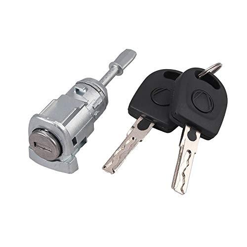 AUTOUTLET Zylinderschloss Auto Schließzylinder Schließanlage LINKS Für VW GOLF SKODA FABIA 604837167