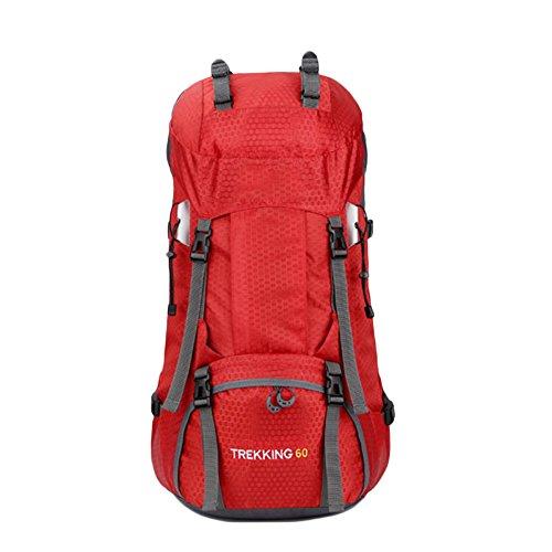 camping escalade p/êche Sac /à dos de randonn/ée 60 l Sports Plein air Sac /à dos de voyage Pour trekking