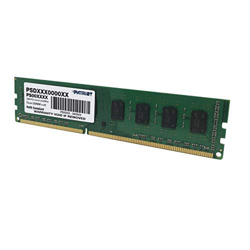 Patriot Signature 4 GB PC3-10600 1333 MHz DDR3 Desktop Memory PSD34G13332