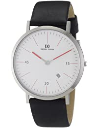 Danish Design Herren-Armbanduhr XL Analog Quarz Leder 3314380