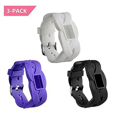 mtsugar Garmin vivofit 3 armbinde, Silikon - Ersatz armbinde Accessoire mit Sicheren verschlüsse von Garmin vivofit3 für Frauen und männer (Keine Tracker, Ersatz - Bands) von Mtsugar100