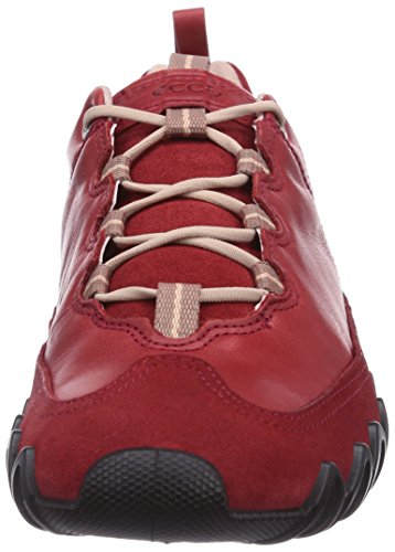 Ecco Dayla Chili Red/Chili Red Suede/Fire, Baskets Basses femme Rouge - Rot (ChiliRed/Chili Red Suede/Fire55183)