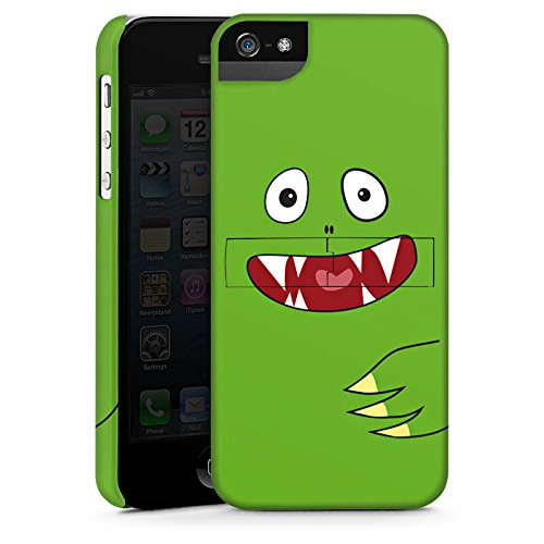 Apple iPhone X Silikon Hülle Case Schutzhülle Monster Kids Kinder Premium Case StandUp