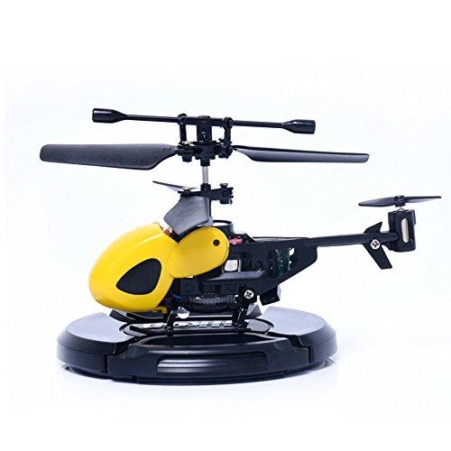 TAOtTAO Mini ferngesteuertes Flugzeug RC 2CH Mini RC Hubschrauber Funkfernsteuerung Micro 2 Channel (K)