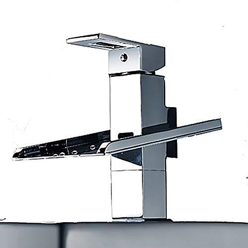 Rozin Bad Dusche Badewanne Chrom Wasserhahn Einhandmischer mit Handspritzger/ät Badewanne Wasserhahn Freistehend Standarmatur Badewannenarmatur