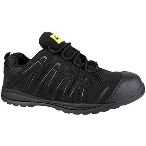 Amblers Safety Mens FS40C Safety Trainers Black