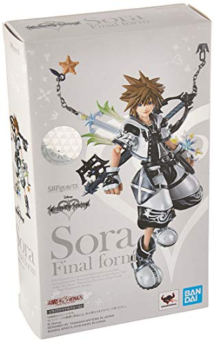 Bandai SH S.H. Figuarts Kingdom Hearts II 2 Sora Final Form Action Figure