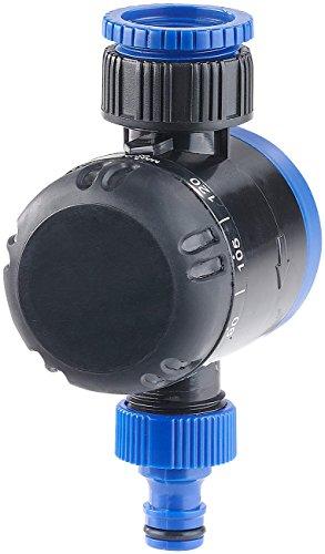 """Royal Gardineer Zeitschaltuhr Wasserhahn: Mechanische Bewässerungs-Schaltuhr, bis 120 Min, 3/4\""""-Gewinde (Bewässerungszeitschaltuhr)"""