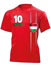 Ungarn Fanshirt Kinder T-Shirt Gr.110 bis 164