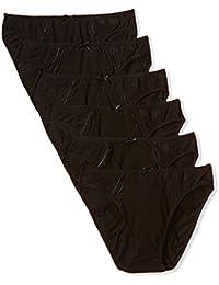 PIERRE CARDIN Pack x 6 Braguitas Negro M