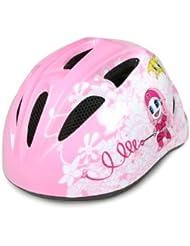 Aok - Casco de ciclismo para niña (talla XS, 48-52 cm)