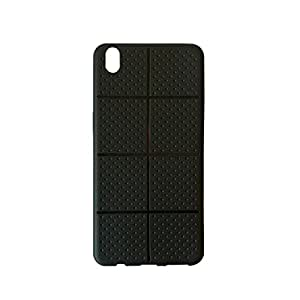 """Noise Shield Soft Dotted Matte Finish Bumper Back Case Cover for """"Oppo F1 Plus"""""""