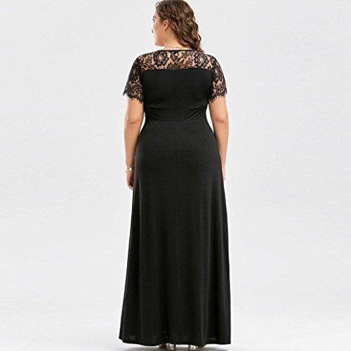 LILICAT Frauen Abendkleid Partykleid Business Spitze Kleid Damen ...