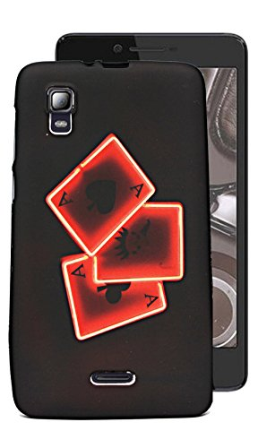 ECellStreet Exclusive Printed Soft Back Case Cover Back Cover For Micromax Canvas Doodle 3 A102 - Card  available at amazon for Rs.149