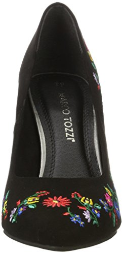 Marco Tozzi 22455, Escarpins Femme Noir (Black Comb 098)