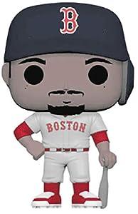 Funko- Pop Vinilo: MLB: Mookie Betts (New Jersey) Figura Coleccionable, (37992)