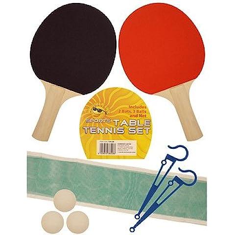 TABLE TENNIS SET 2 BATS/3 BALLS/1 NET