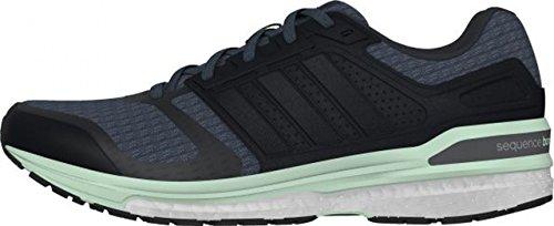 adidas  Supernova Sequence 8,  Damen Laufschuhe Negro / Gris / Verde