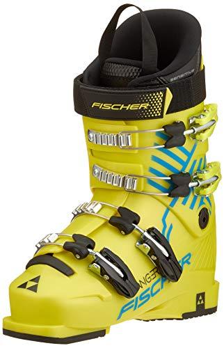 Fischer Unisex Jugend Junior Skischuhe Ranger 60 JR Thermoshape, gelb, 24.0, 240 -