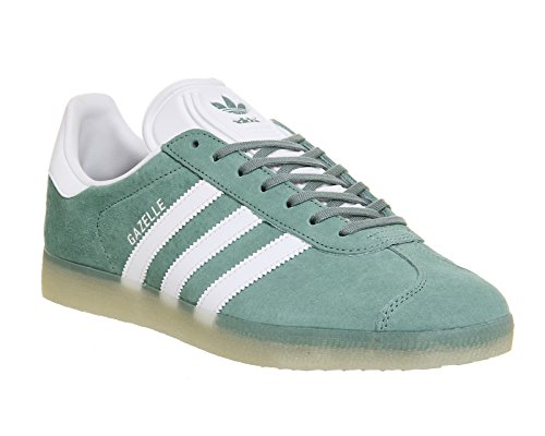 adidas Gazelle Vapste White Metallic Silver Vert