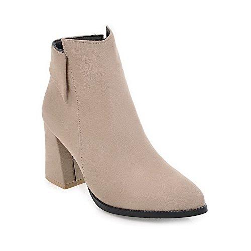 Balamasaabl09712 - Sandales Compensées Beiges Pour Femmes