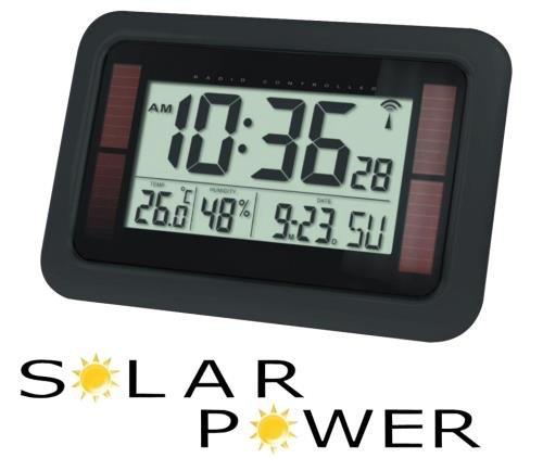Bilan Meteo-He-Clock-84 Montre Radio-Pilotée avec Alimentation pour Solaire