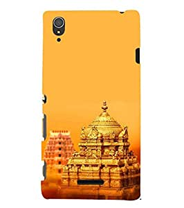 Fuson Designer Phone Back Case Cover Sony Xperia T3 ( Tirupati Temple )
