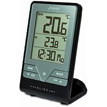Oregon Scientific - Touch & Slide - Termometro Con Orologio + Temperatura Indoor / Outdoor (3 Sensori Remoti)