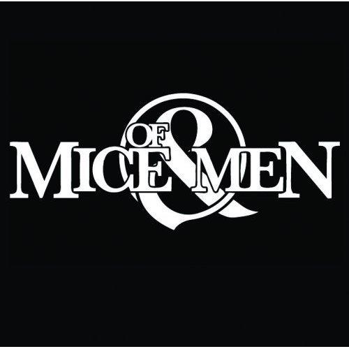 Of Mice & Men Logo Sottobicchiere singolo 10 x 10 cm