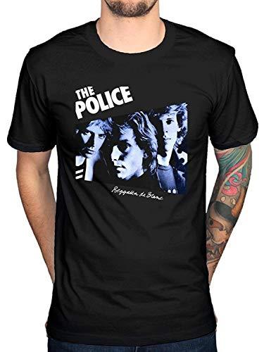 igczobuxlwesk The Police Regatta T-Shirt Sting De Blanc Synchronicity Band Men's Fashion T-Shirt