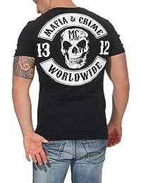 0d241bf1a Mafia   Crime Camiseta Hombre Parche 591