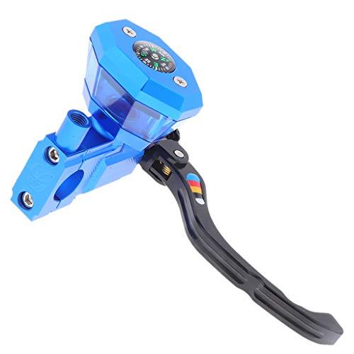 Shiwaki Motorrad hydraulische Kupplung Hebel Bremszylinder Reservoir - Blau