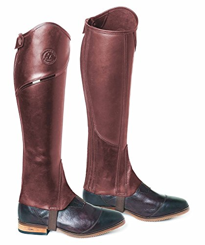 Mountain Horse Renown Leggings Chaps - Braun: Medium breit Legging Chaps