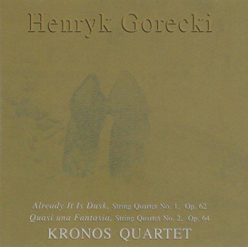 GORECKI - Kronos Quartet - String quartet No. 1,2