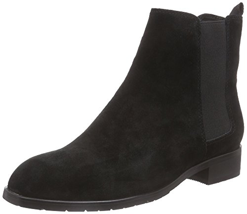Giudecca JY1546-1 Damen Chelsea Boots Schwarz (Black)